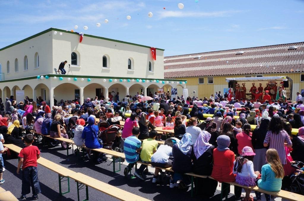 Inauguration de la mosquée turque de Châteadun1