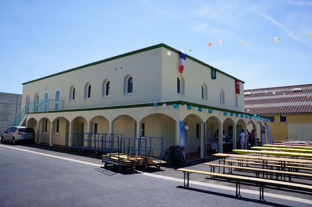 Inauguration de la mosquée turque de Châteadun12