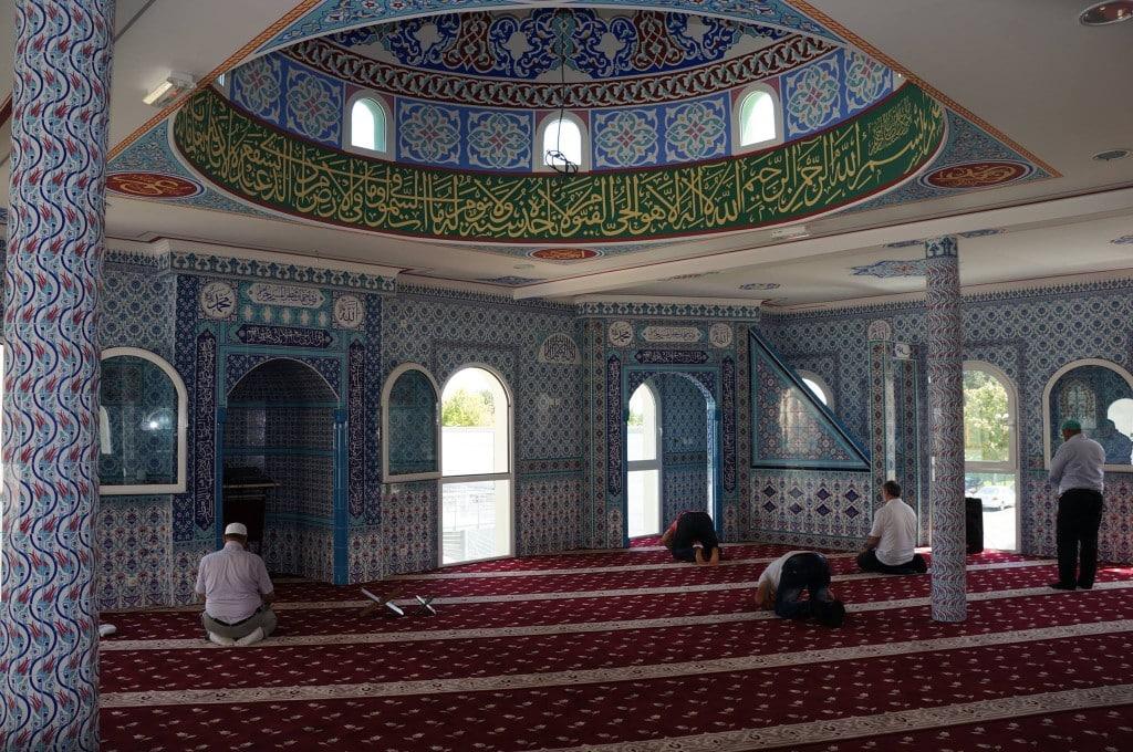 Inauguration de la mosquée turque de Châteadun8
