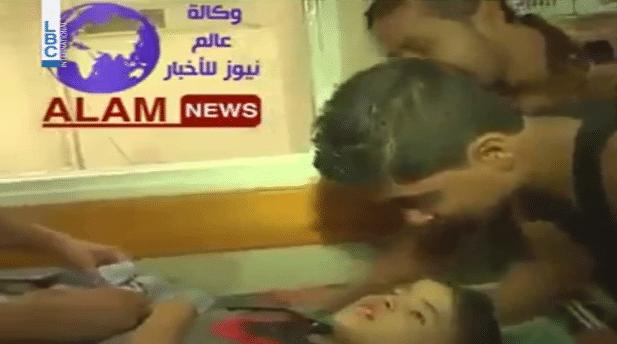 Émouvant ! Quand la mort n'ose pas arracher l'âme d'un enfant palestinien