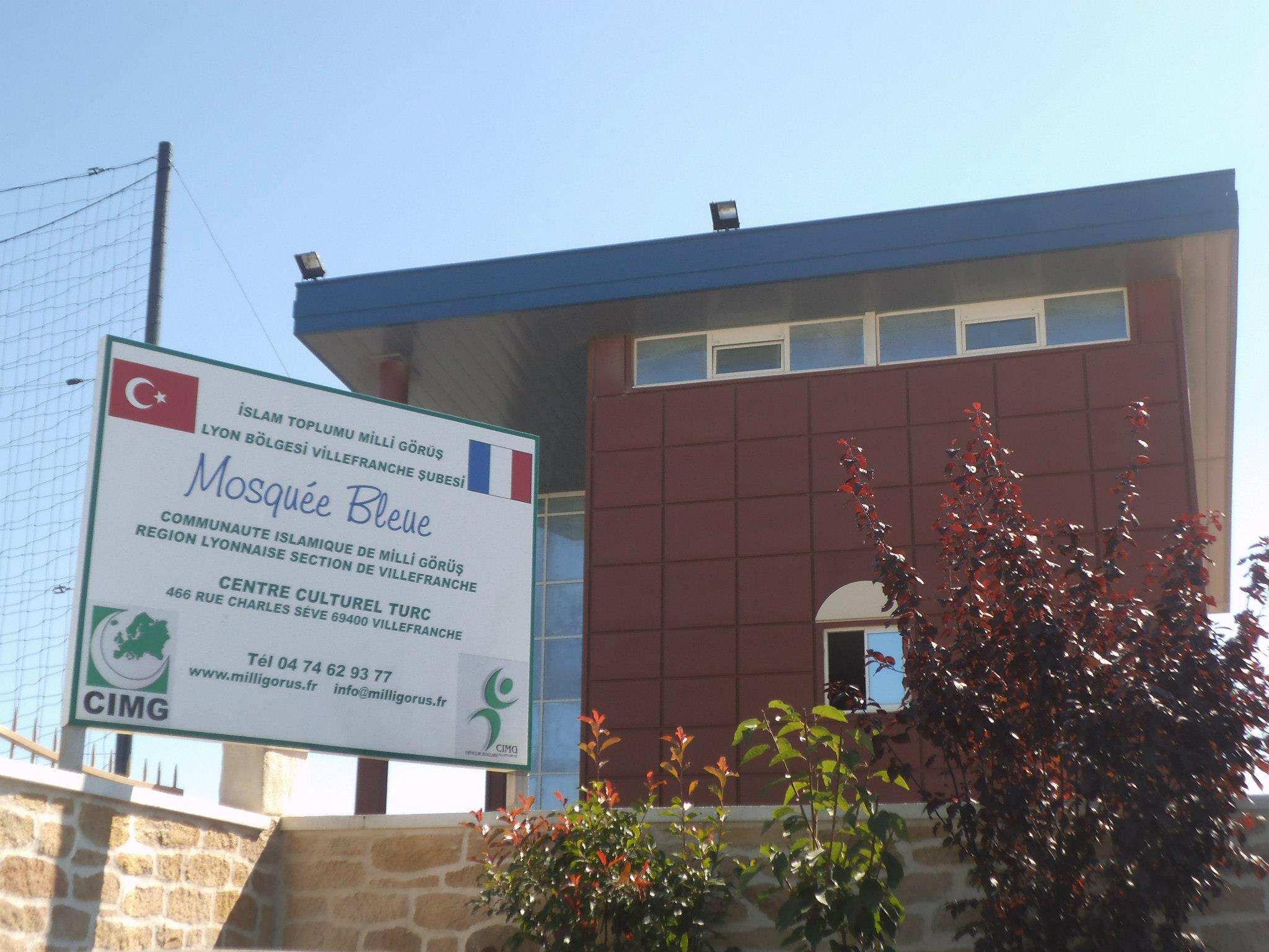 La mosquée Bleue cambriolée