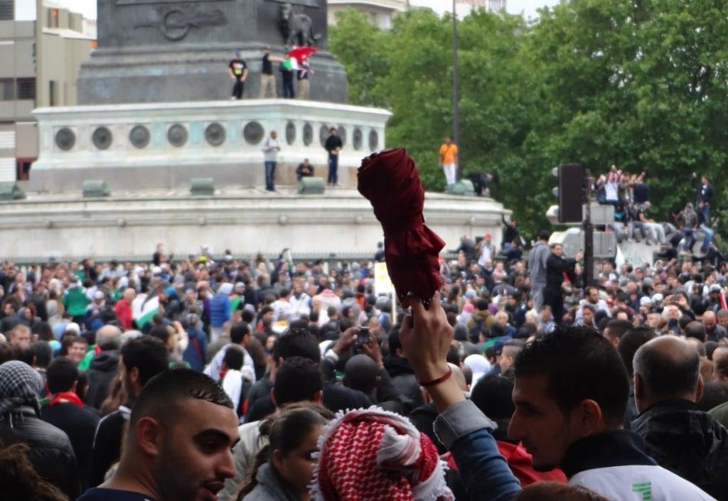 Manif géante pour Gaza à Paris 1