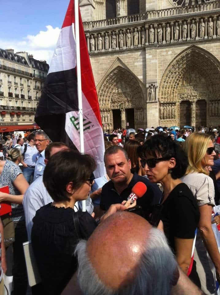 Rachida Dati soutient les chrétiens d'Irak