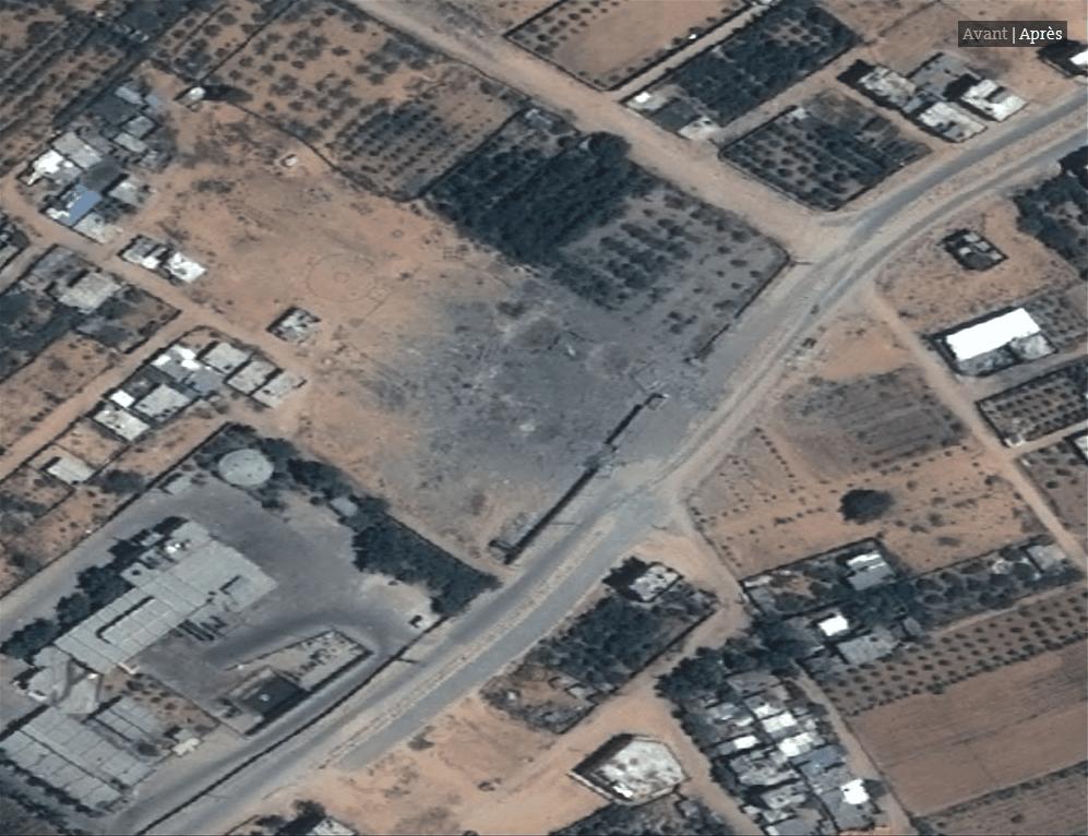 Les impressionnates destructions de Gaza vues du ciel10