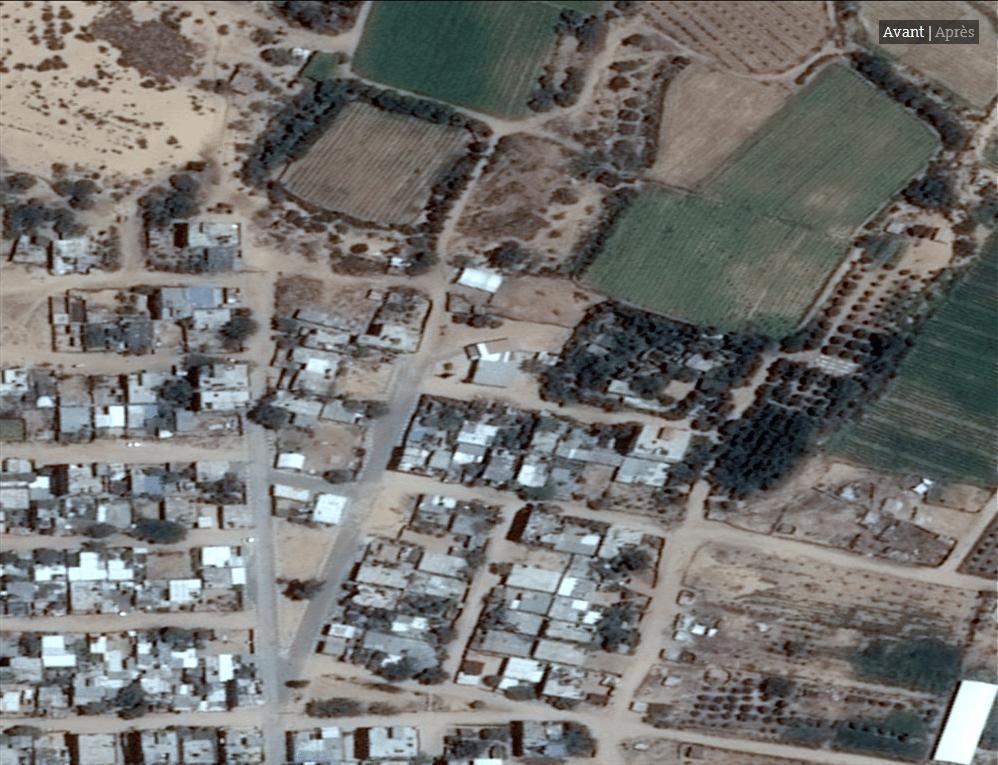 Les impressionnates destructions de Gaza vues du ciel3