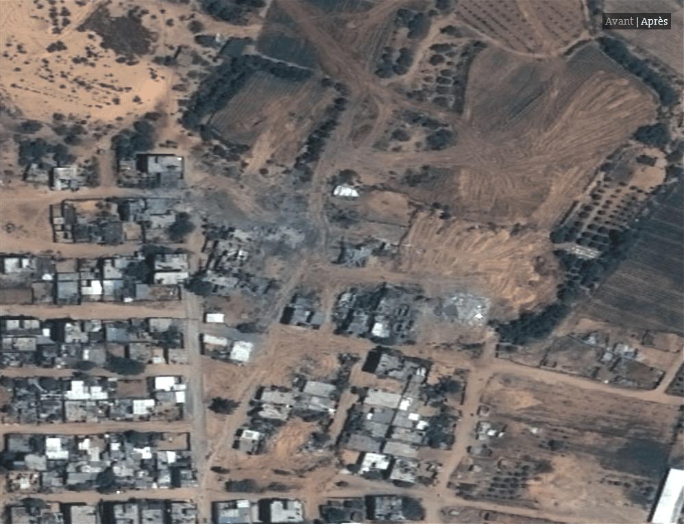 Les impressionnates destructions de Gaza vues du ciel4