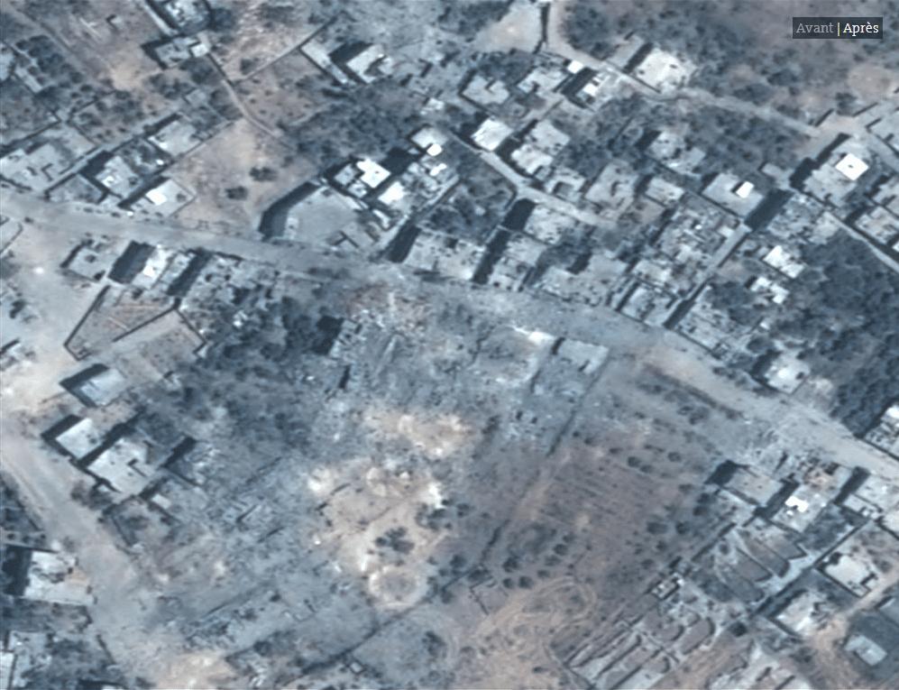 Les impressionnates destructions de Gaza vues du ciel6