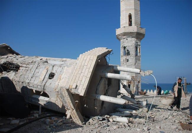 Mosquée Khalil Alwazeer Gaza