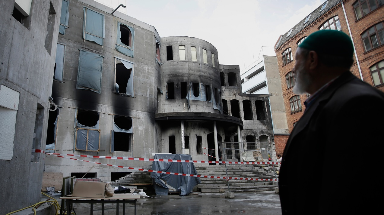 Une mosquée berlinoise ravagée par un incendie