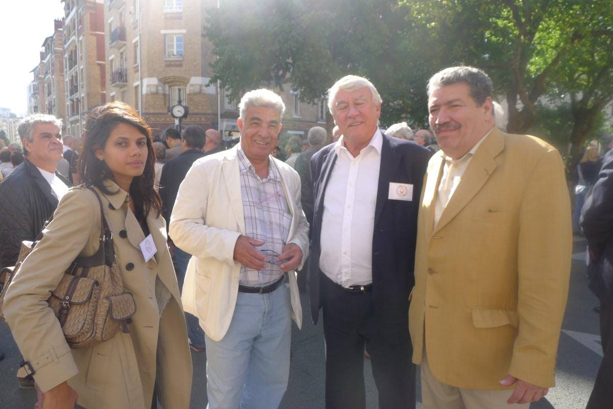 Abderrahmane Dahmane avec Claude Goasguen photo