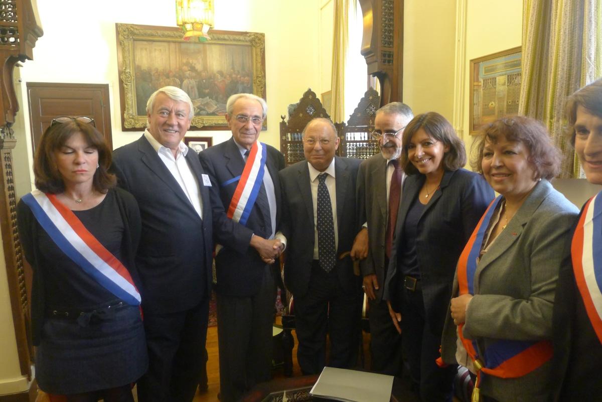 Dalil Boubakeur avec Claude Goasguen