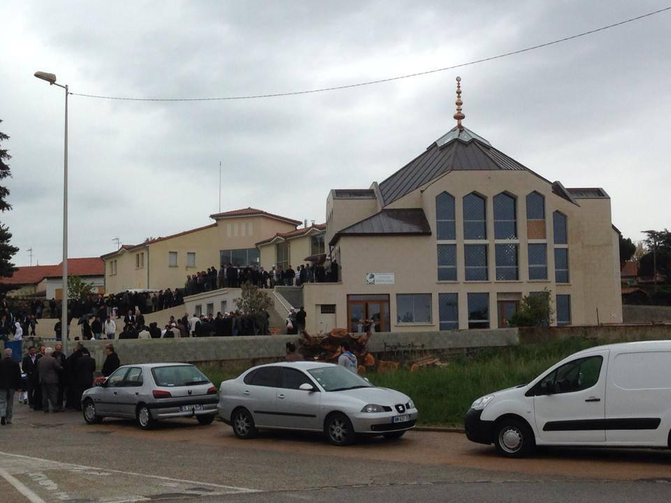 La mosquée d'Annonay