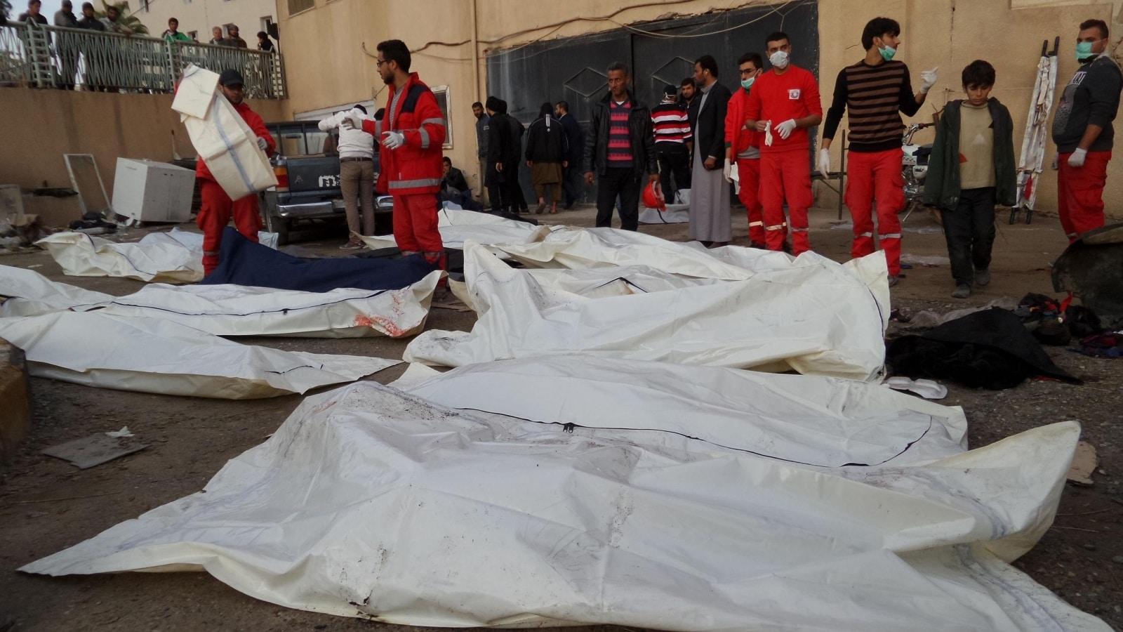 130 morts dans un massacre de l'aviation d'Assad à Raqqa