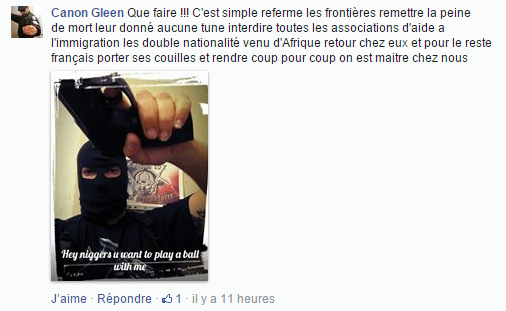 Haine Page Facebook anti mosquée Strasbourg 1