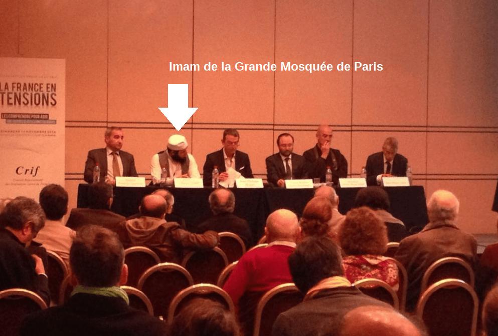L'imam de la Grande Mosquée de Paris à la Convention du Crif