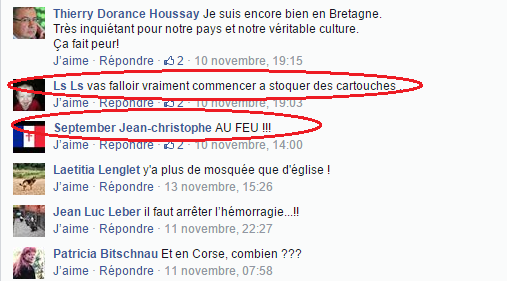 Page Facebook anti mosquée Strasbourg 10