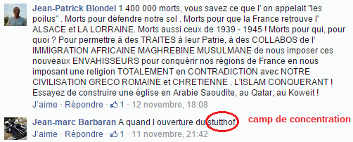 Page Facebook anti mosquée Strasbourg 3