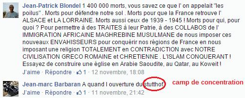 Page Facebook anti mosquée Strasbourg 3