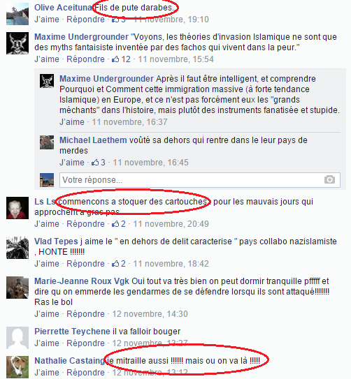 Page Facebook anti mosquée Strasbourg 5