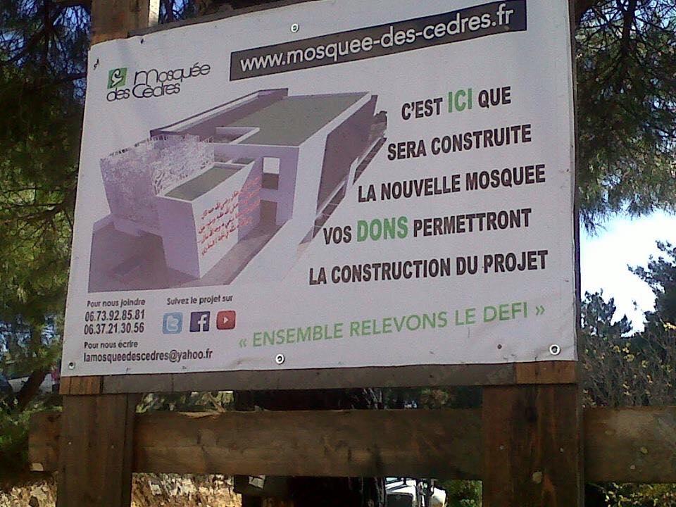 Projet mosquée des Cèdres