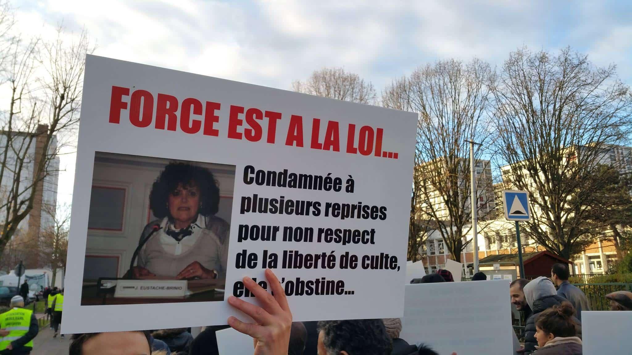 Forte mobilisation contre l'islamophobie à Saint-Gratien 1