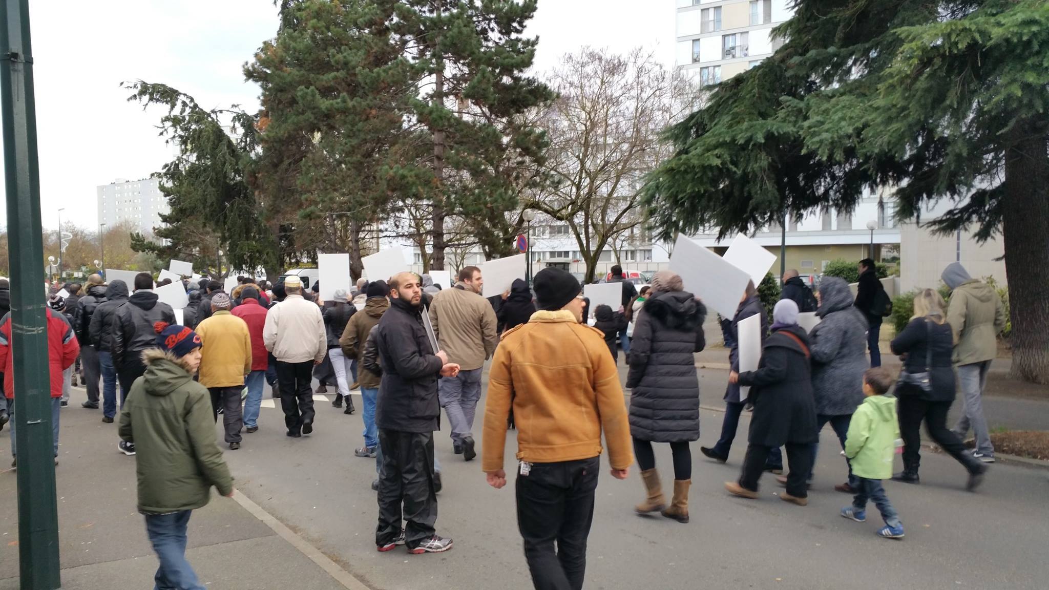 Forte mobilisation contre l'islamophobie à Saint-Gratien 4