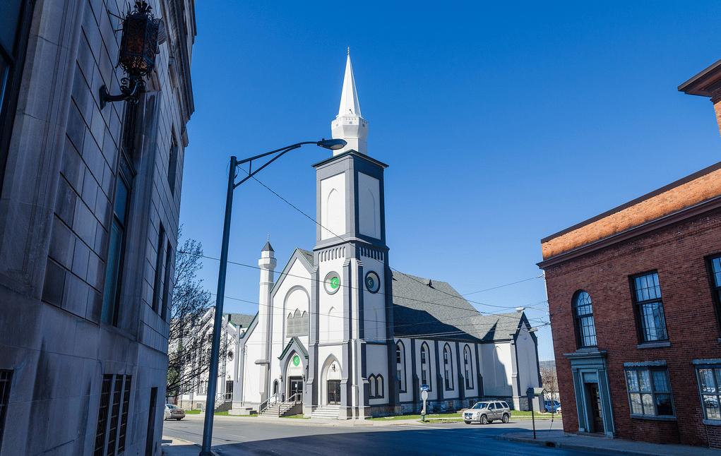 La mosquée d'Utica