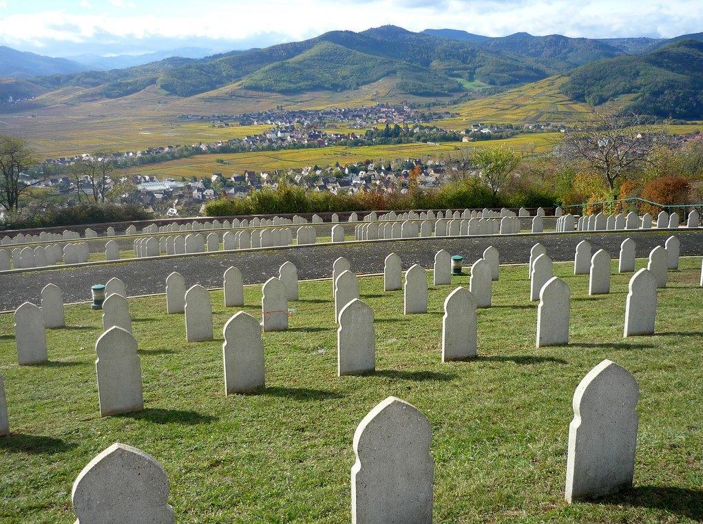 Musulmans mort pour la France , cimétière en Alsace