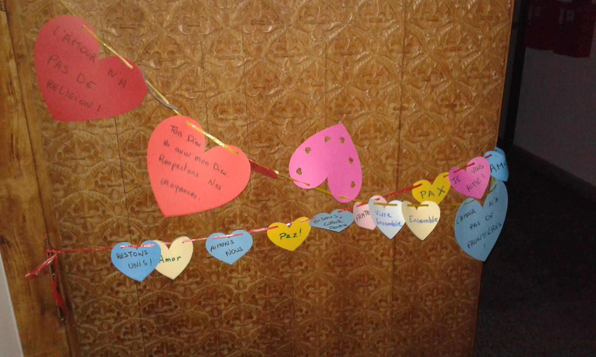 Des coeurs à la mosquée Assalam de Nantes 2