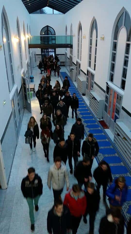 Huit classes de seconde visitent la mosquée de Villeneuve d'Ascq 2