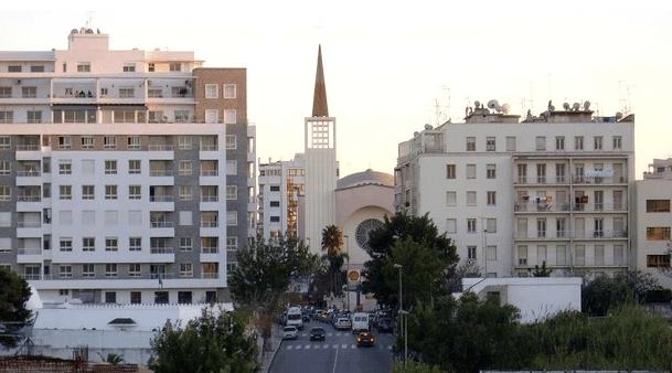 La cathédrale de Tanger