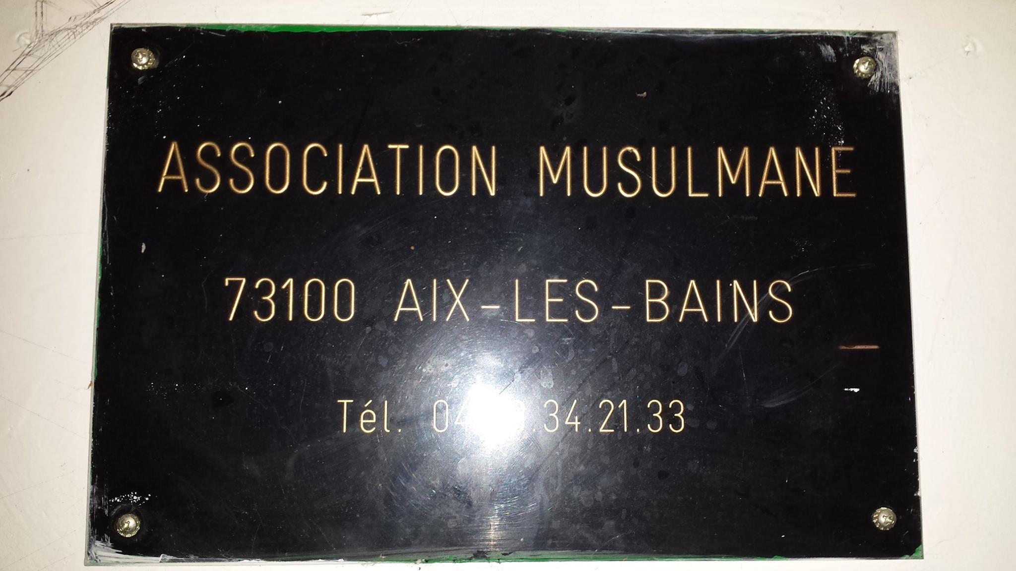Une mosquée d'Aix-les-Bains incendiée 5