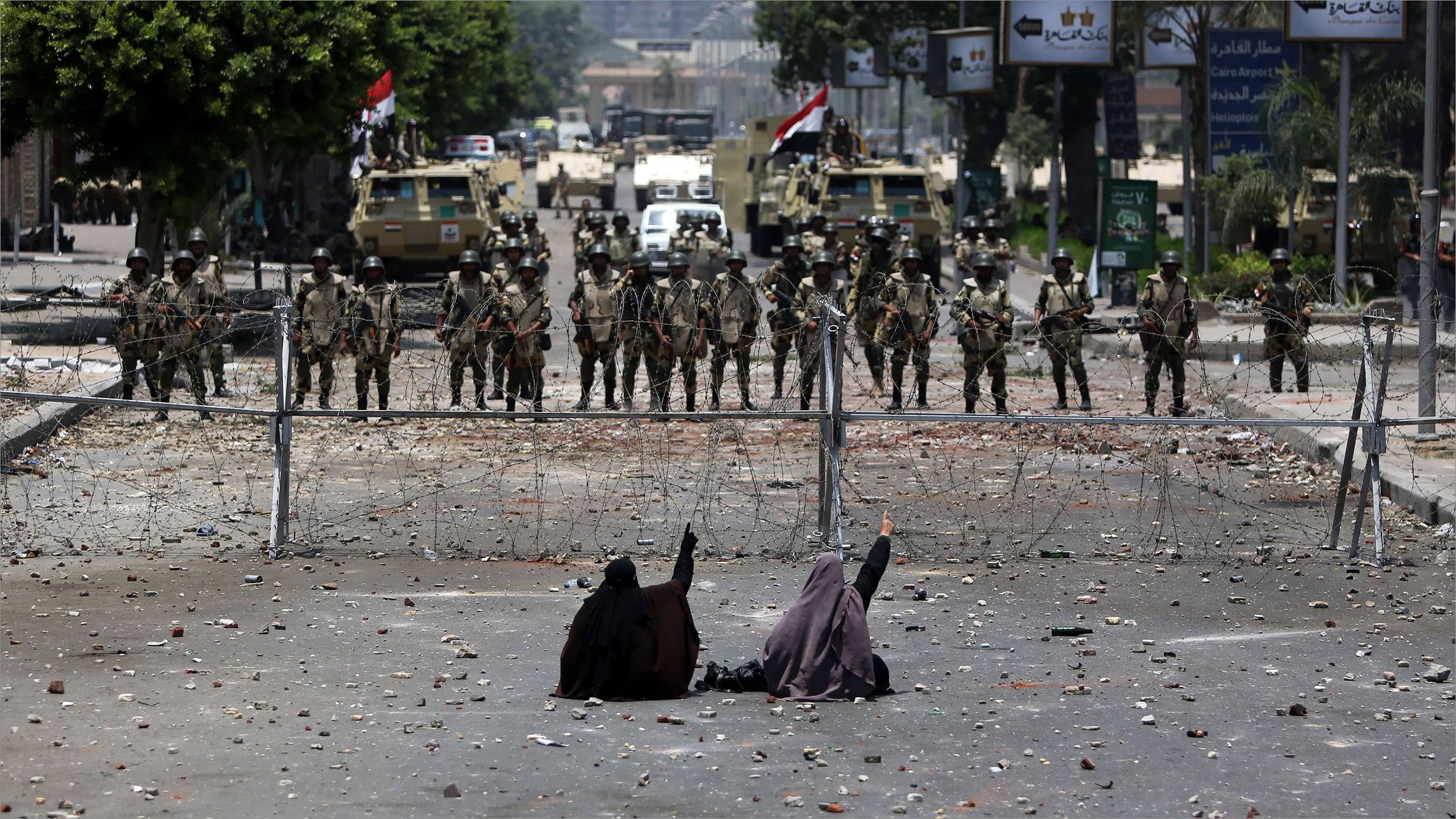 Massacre de Rabia au Caire Sissi 3