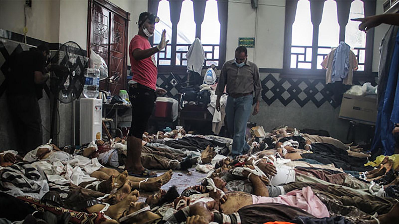 Massacre de Rabia au Caire Sissi