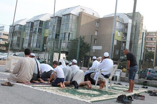 Prières de rue à Saint-Laurent-du-Var
