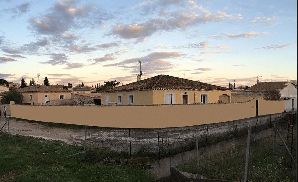 Projet de mosquée à Uchaud