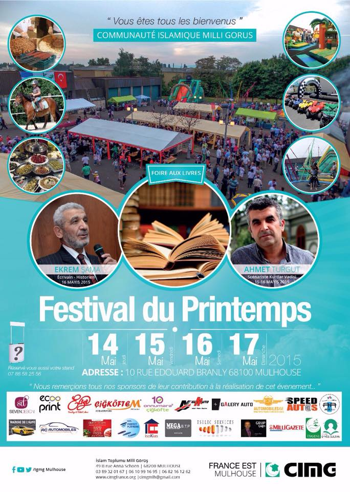 3e Festival du Printemps de Milli Gorus Mulhouse