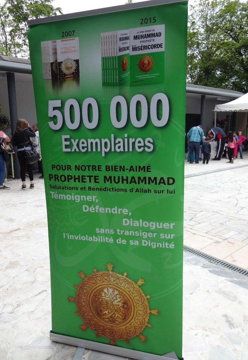 Expo sur le prophète Mohammad à la mosquée de Belfort