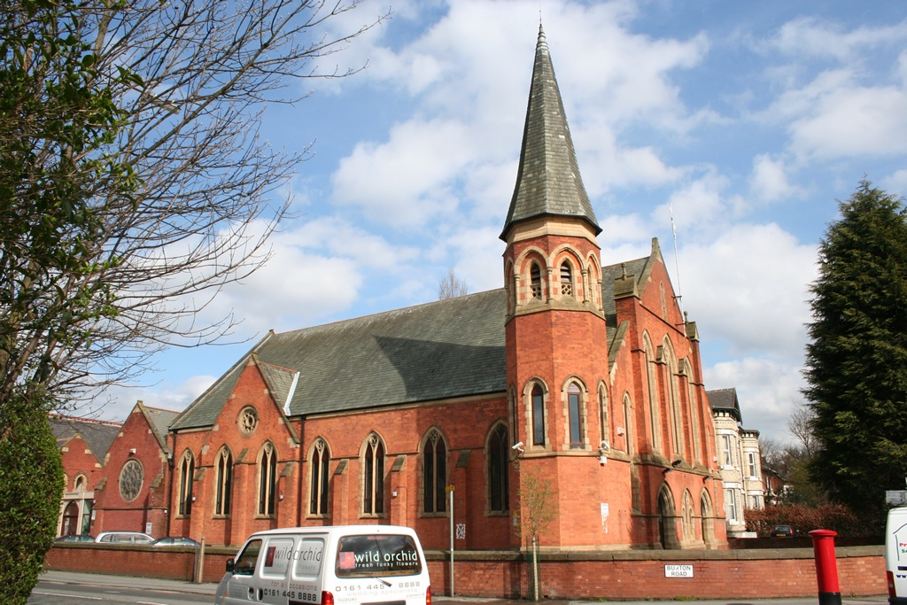 Mosquée de Disbury à Manchester