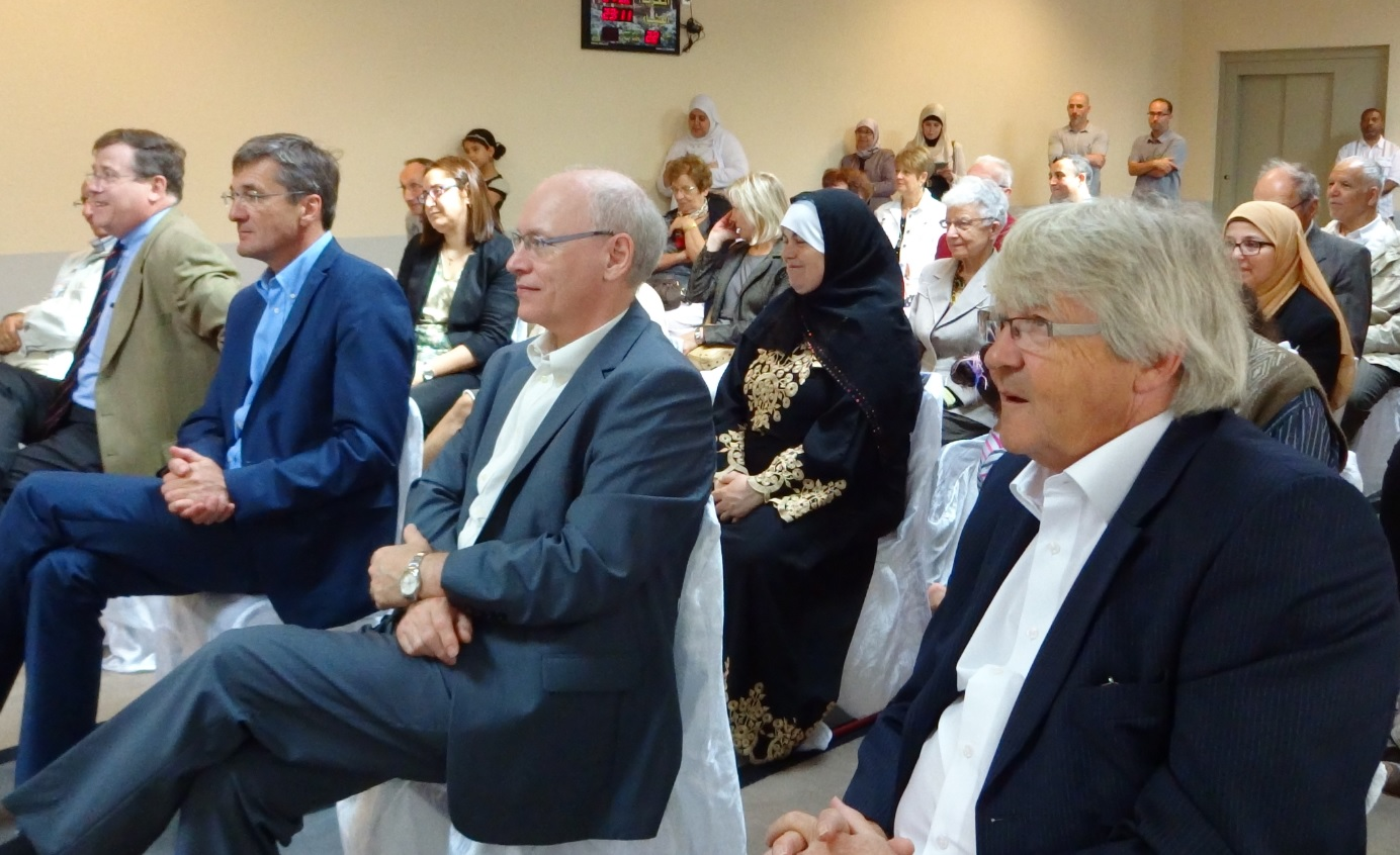 Inauguration de la mosquée d'Illzach Alsace 5