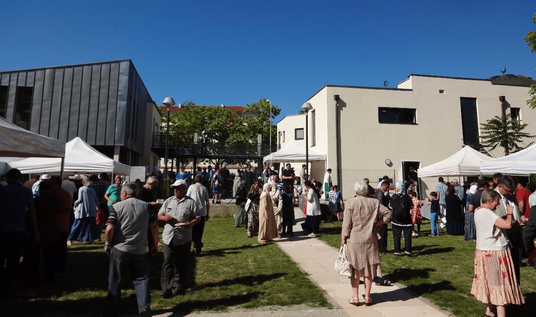 Inauguration de la mosquée de la Robertsau