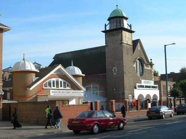 La mosquée centrale de Wembley