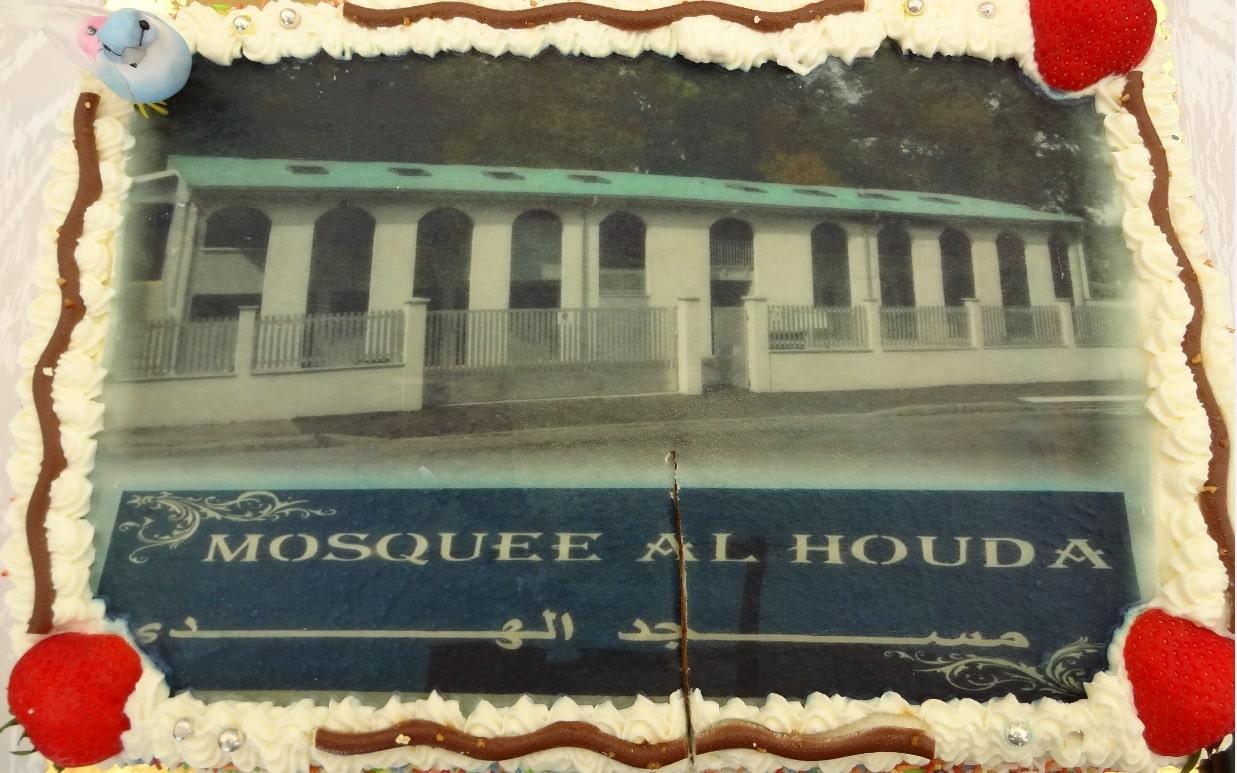 Tarte mosquée Al Houda d'Illzach