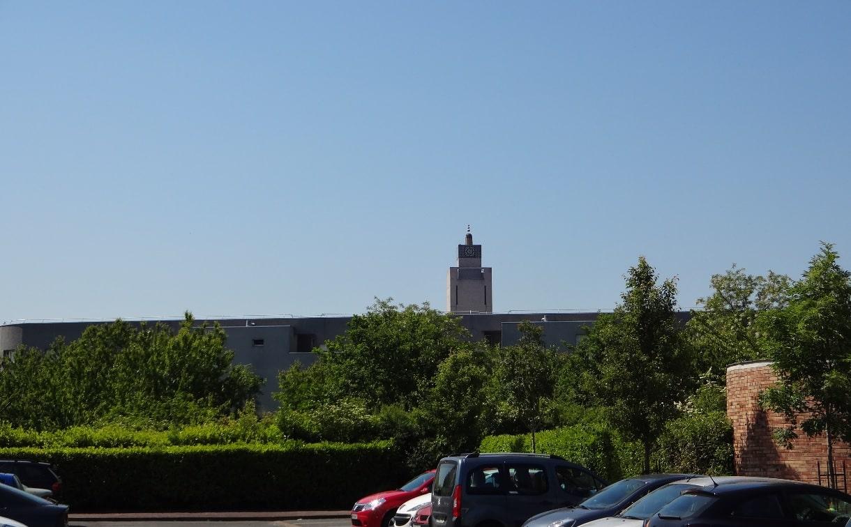 La mosquée d'Evry