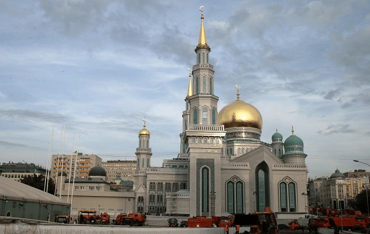 Inaugration de la mosquée centrale de Moscou