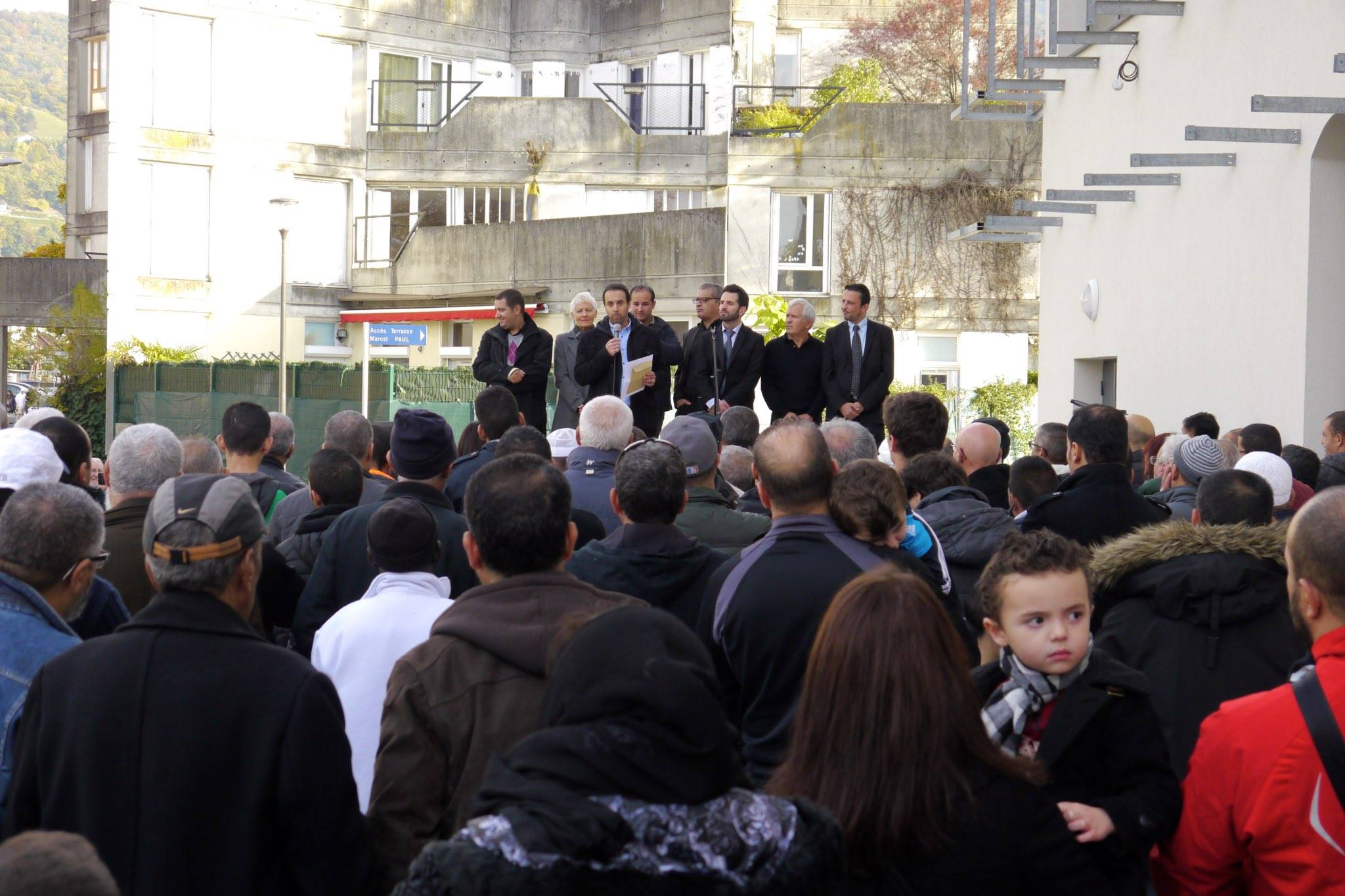Inauguration de la mosquée Omar de Saint-Martin-d'Hères 1