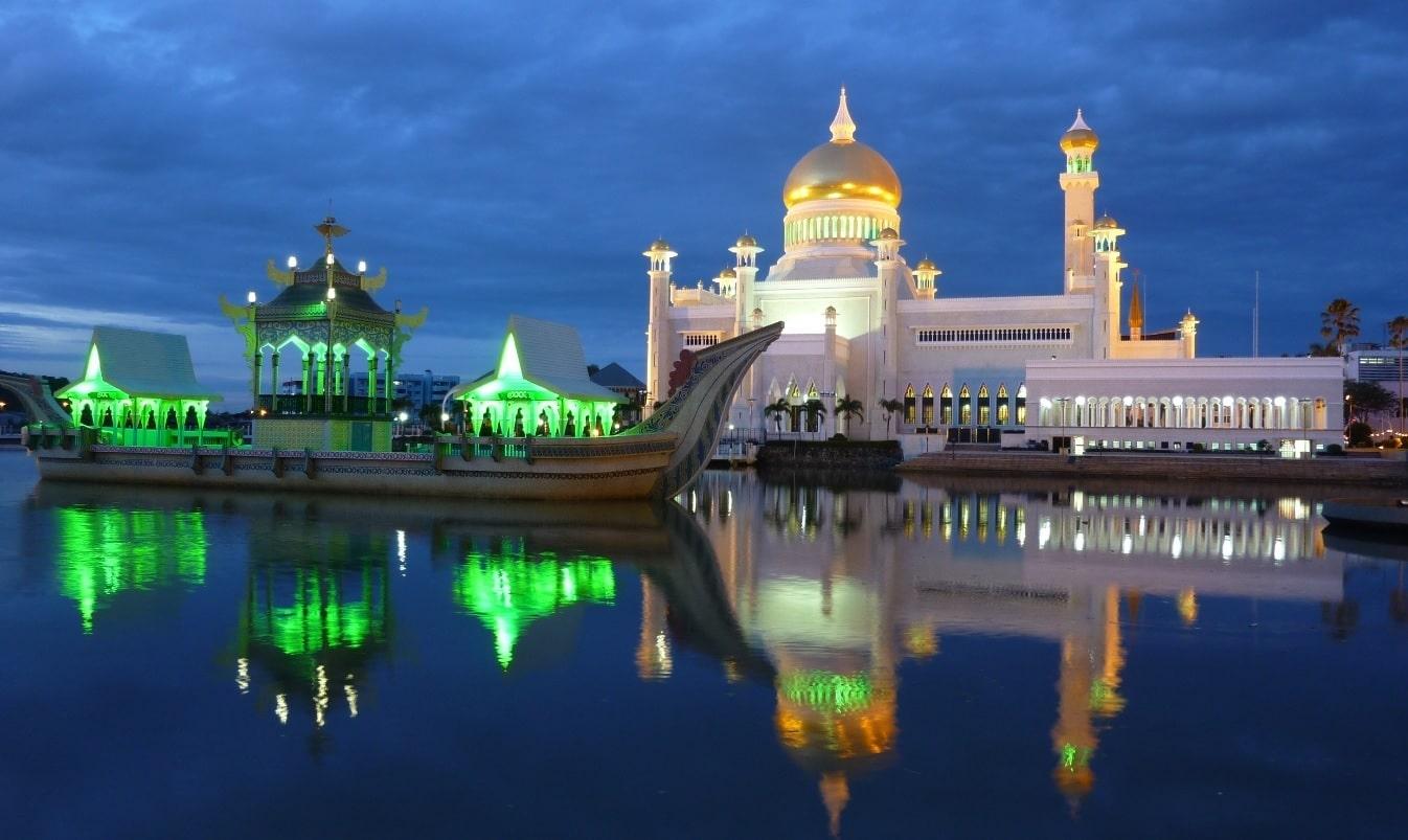 La mosquée Ali Saifuddin de Brunei
