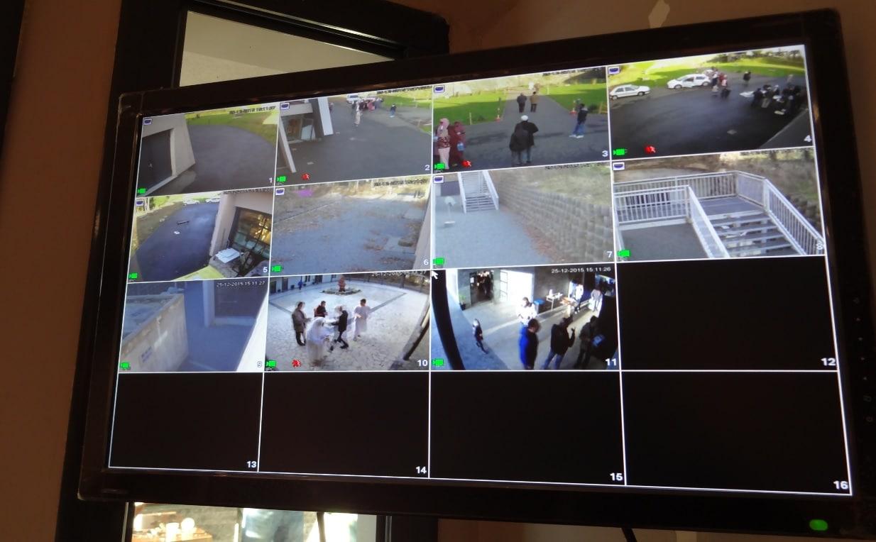 Ecran vidéosurveillance