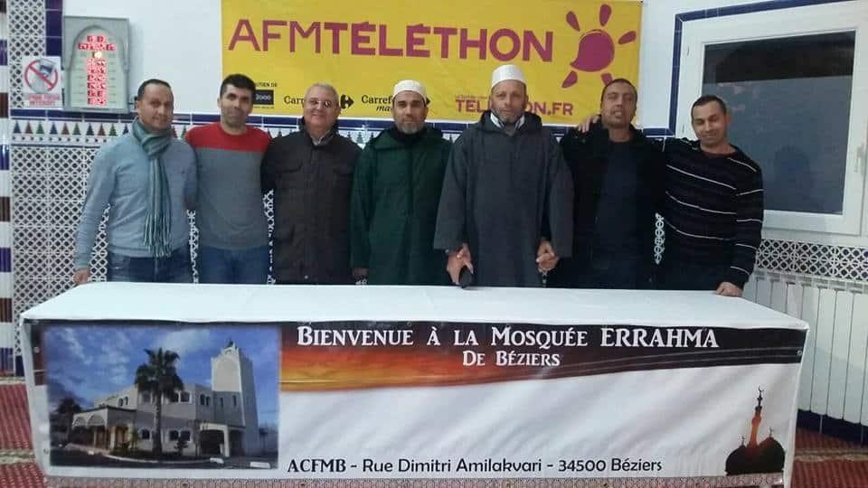 Mosquée Ar-Rahma de Béziers Téléthon