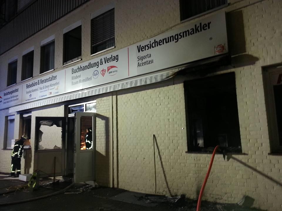 Une mosquée de Stuttgart visée par un attentat à la bombe 2